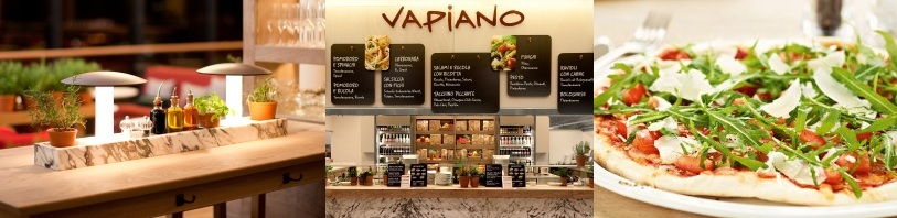 Vapiano maakt gebruikt van een innovatief concept op basis van het Microsoft Dynamics Retail Management System. Klanten krijgen bij binnenkomst een RFID kaart die ze kunnen gebruiken om eten en drankjes op te laten zetten als ze deze bestellen. Aan het eind van hun bezoek wordt de kaart uitgelezen en afgerekend aan de kassa.
