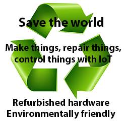 Save the World - Use refurbished hardware